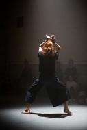 (2018) Katye Coe in Radical Togetherness R&D sharing at Siobhan Davies dane studio. photo;